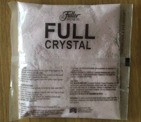Full Crystal Powder Glass Cleaner For Fuller Brush Full