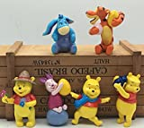 Winnie the pooh/Tigger Piglet Doll Creative Cake Accessories Gift Topper Figure