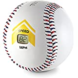 SKLZ Bullet Ball Baseball Speed Sensor Accurately Measures Baseball Speed up to 120 mph