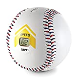 SKLZ Bullet Ball Baseball Speed Sensor Accurately Measures Baseball Speed up to 120 mph