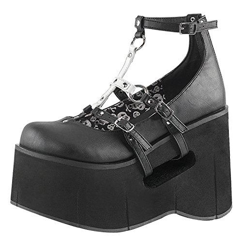 Demonia - Defining Alternative Footware Strap Maryjane Plateauschuh