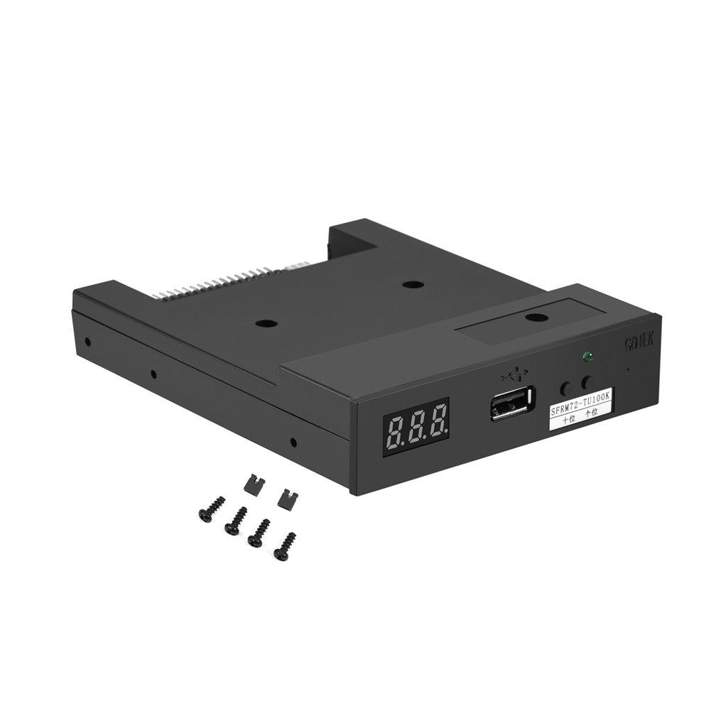 fosa 3.5'' USB 720KB Floppy Drive Emulator Built-in Memory for Industrial Control Equipment