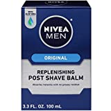 NIVEA FOR MEN Replenishing Post Shave Balm 3.30 oz (Pack of 4)