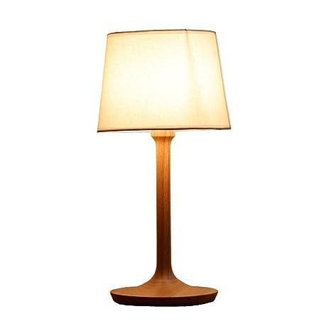Yxx max *lampara Mesa Lámpara De Mesa De Madera, Lámpara De ...
