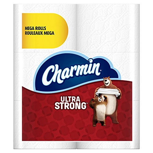Roll Bath Tissue (Charmin Ultra Strong Toilet Paper, Mega Roll, 24 Count (Packaging May Vary))