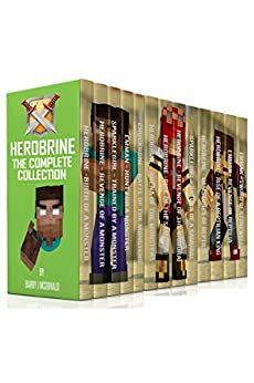 Herobrine - The Complete Collection (17 Books In 1 Boxset) by [McDonald, Barry J]