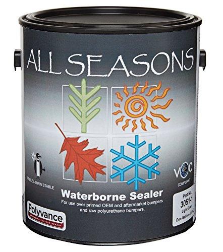 All Seasons Waterborne Bumper Sealer, Gallon, Light Gray