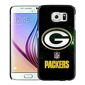 Popular And Unique Custom Designed Case For Samsung Galaxy S6 With Green Bay Packers 40 Black Phone Case