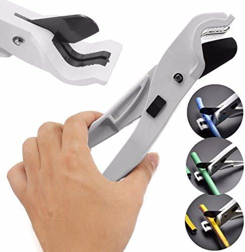 Fanuse 1pc silbrig Schlauch Conduit schneiden Zange Scissor Werkzeug ABS PPR PE PVC Sanitaer Rohr Rohr Cutter