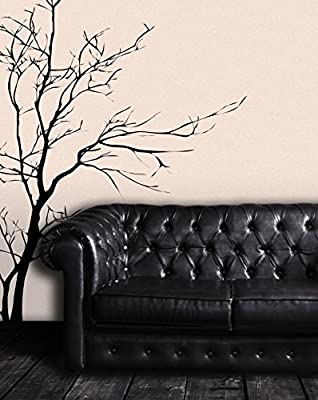 Stickerbrand Bare Tree Branch Wall Decal Sticker Easy to Apply and Removable. Made in The USA. #AC223s