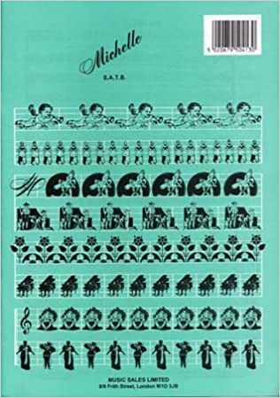Format michelle satb piano: 5020679504130: Amazon com: Books