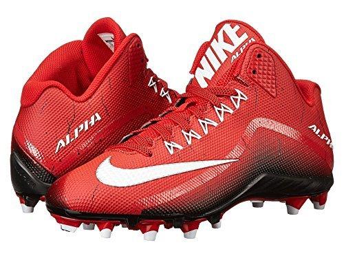Nike Alpha Pro 2 Voetbalplaatje Rood / Zwart