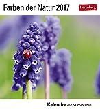 Farben der Natur - Kalender 2017: Kalender mit 53 Postkarten