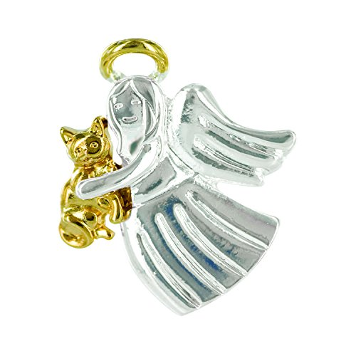 Wings and Wishes Angel Tac Pin, Angel for Cat Lover