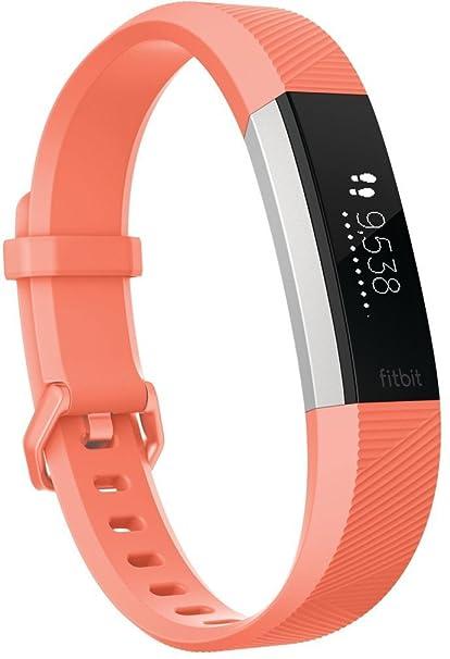 b5e96fec0895 Fitbit Alta HR Pulsera de Ritmo cardiaco y Fitness, Unisex Adulto, Coral, L