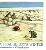 Front cover for the book A Prairie Boy's Winter by William Kurelek