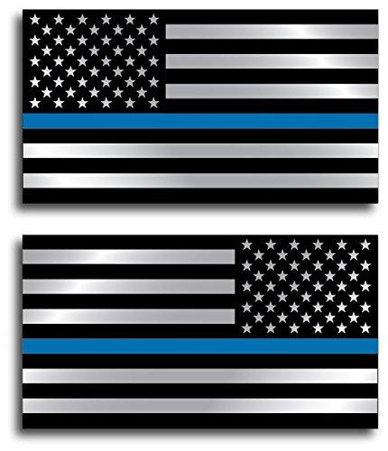 Officer Regular Reversed American Sticker product image