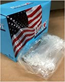 Authentic Patriot 5'' Super Circle Locking Security Loops Box of 5000