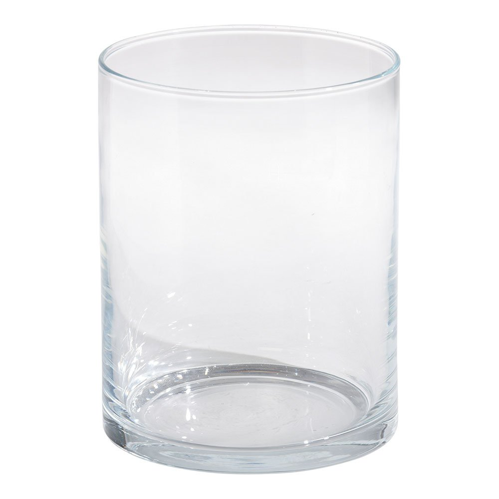 Ethan Allen Glass Hurricane, Medium