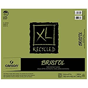 Canson Xl Recycled Bristol S+v 14x17