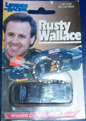 Rusty Wallace Racing Driver (Rusty Wallace Diecast Car Key)