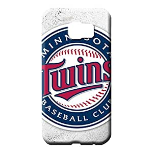samsung galaxy s6 Strong Protect Specially stylish phone cover shell minnesota twins mlb baseball