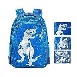 Reversible Sequin School Backpack