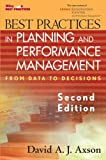 img - for Best Practices in Planning and Performance Management: From Data to Decisions book / textbook / text book