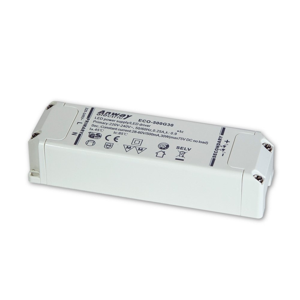 00012193 - Anway LED Treiber ECO-500G30 30W/500mA/28-60V