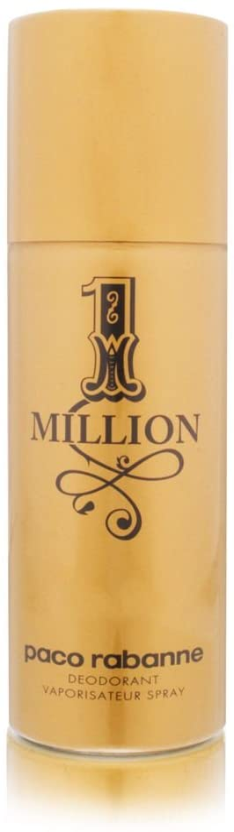Paco Rabanne 1 Million Deo Vaporizador, 150 ml, Multicolor