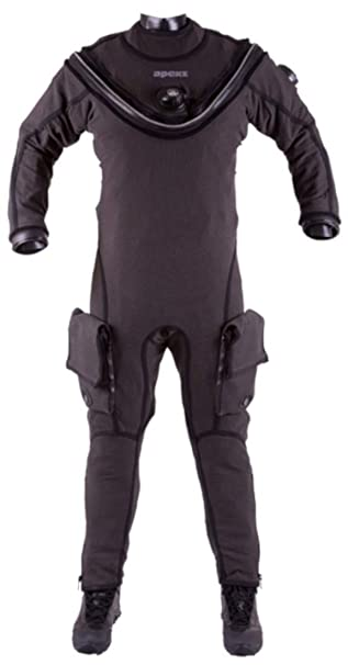 Amazon.com: Apeks Fusion kvr1 Drysuit con AirCore y SLT ...