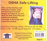 OSHA Safe Lifting, Farb, Daniel and Gordon, Bruce, 1932634126