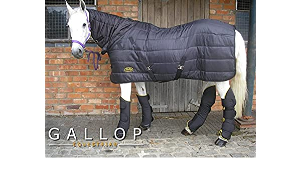 Gallop Maverick C150 DualRug color negro dual Manta para caballos