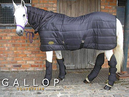 Manta para caballos color negro Gallop Maverick C150 DualRug dual