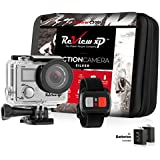 Review XP C300 16MP 4K Action Camera – Waterproof - Wi-Fi - 170° Angle Lens – Ultra HD Sports DV Digital Camcorder + 2.4g Wrist Remote Control + Bundle of 20+ Mounting Kits + Shockproof Carrying Case
