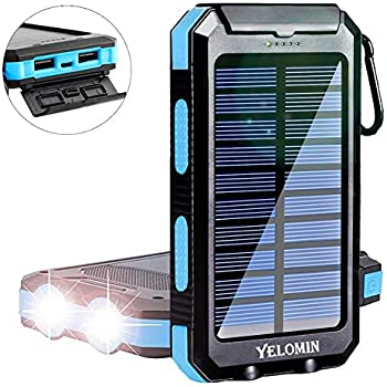 Amazon.com: Solar Charger 20000mAh YOESOID Portable Solar ...