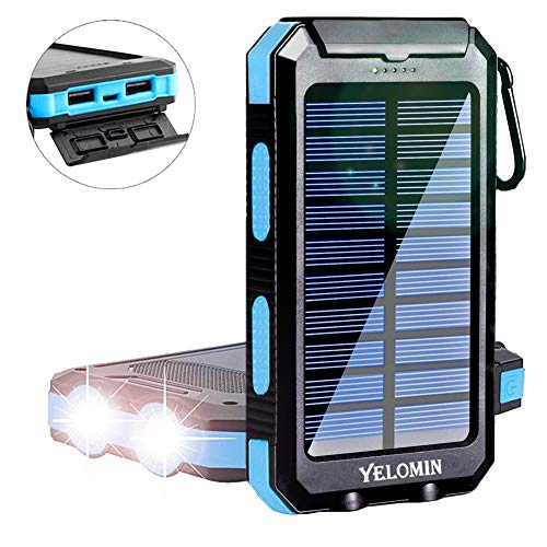 Solar Power BankYelomin 20000mAh