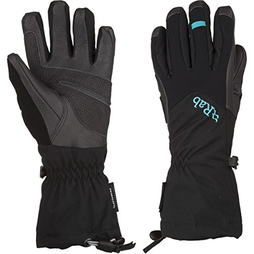 Rab Icefall Gauntlet Glove - Women's Black Small by RAB