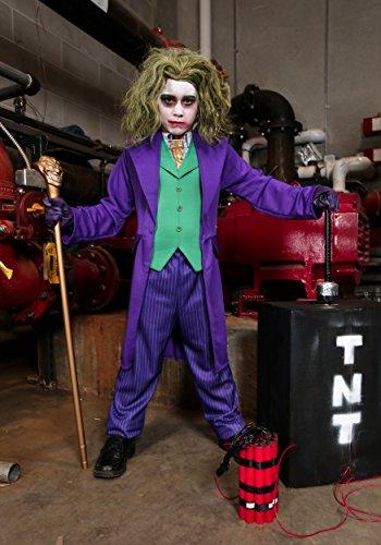 Kids The Joker Costume (Big Boys' Deluxe Joker Costume - XL)
