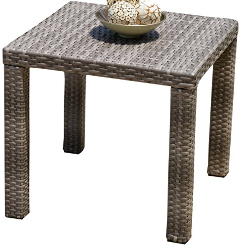 RST Brands Cannes Patio Side Table, 20-Inch ()