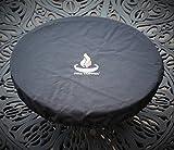 Fire Topper Cover in Black