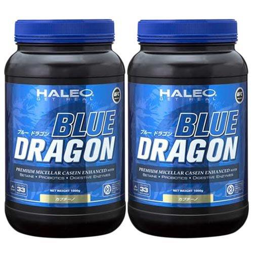 ハレオ ブルードラゴンアルファカプチーノ味 1kg 2個セット B017291UF0