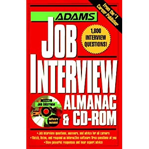 Interview Almanac W/Cd Rom (Adams Almanacs)