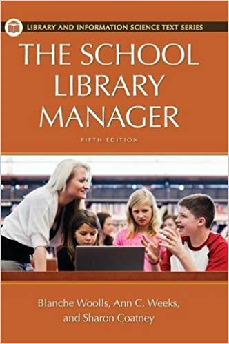 Book The School Library Manager (Library and Information Science Text Series)