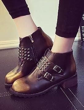 Ch&Ch Zapatos de mujer - Tacón Bajo - Botines - Botas - Vestido / Casual -
