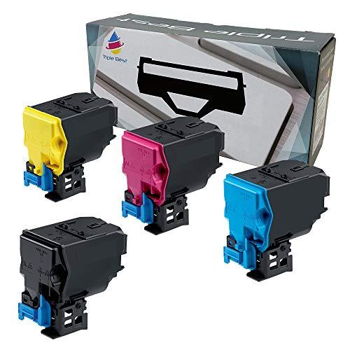 Triple Best Remanufactured Toner Cartridge Replacement for Konica Minolta magicolor 4750EN magicolor 4750DN 4750 A0X5130 A0X5430 A0X5330 A0X5230 (4 Pack)
