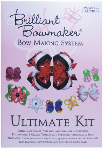 - Little Pink Ladybug Brilliant Bowmaker Ultimate Kit