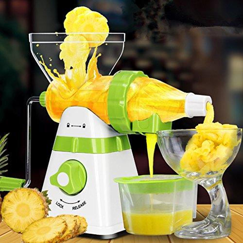 Exprimidor de naranjas Manual Slow Licuadoras Máquina extractora ...
