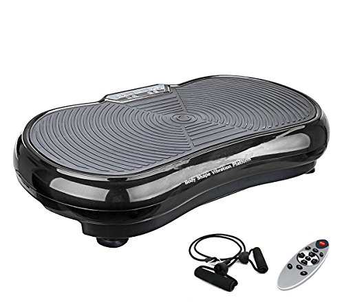 eshion NEW Vibration Machine Plate Platform Fitness Body Slim Shaper Massager (Black)