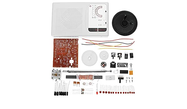 LaDicha DIY FM Am Radio Cxa1691 Estudiantes De Pr/áctica De Soldadura Set Electronic Production Kit